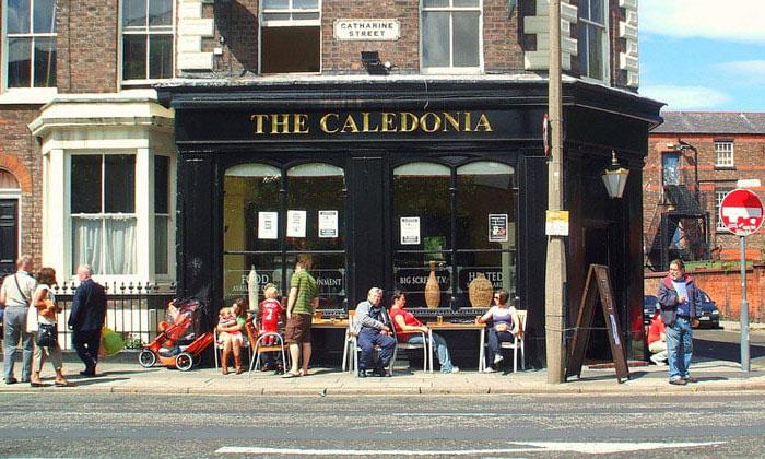 Кафе The Caledonia в Ливерпуле