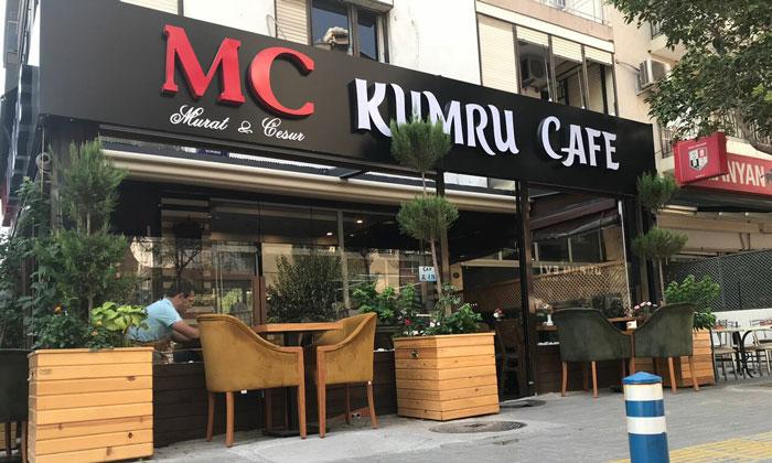 Кафе «MC Kumru» в Измире