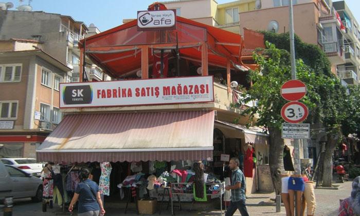 Кафе «Teras Keyfi» в Измире