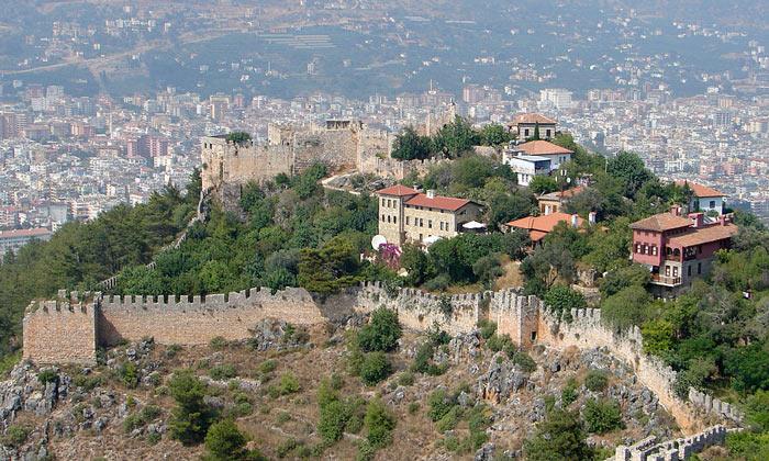Сельджукская крепость Аланьи