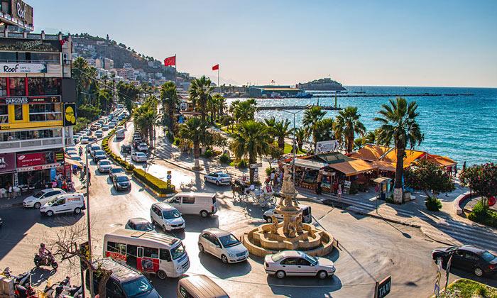 Прибрежный Кушадасы в Турции