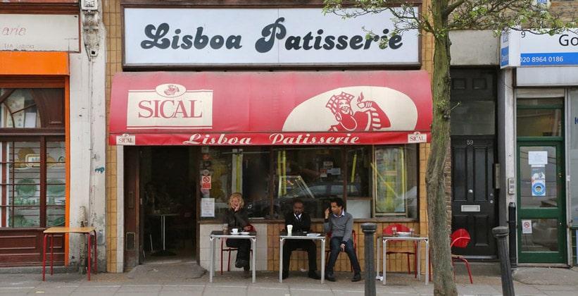 Заведение Lisboa Patisserie в Лондоне