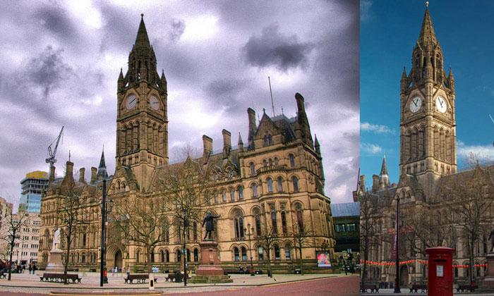 Городская ратуша Манчестера