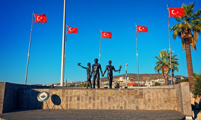 Мемориал Ататюрка в Кушадасах