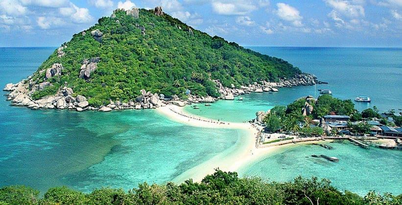 Острова Ко Нанг Юан в Таиланде