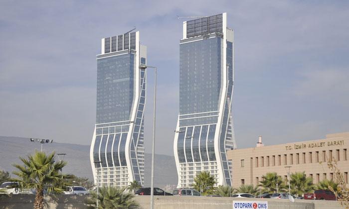 Небоскрёбы «Folkart Towers» в Измире