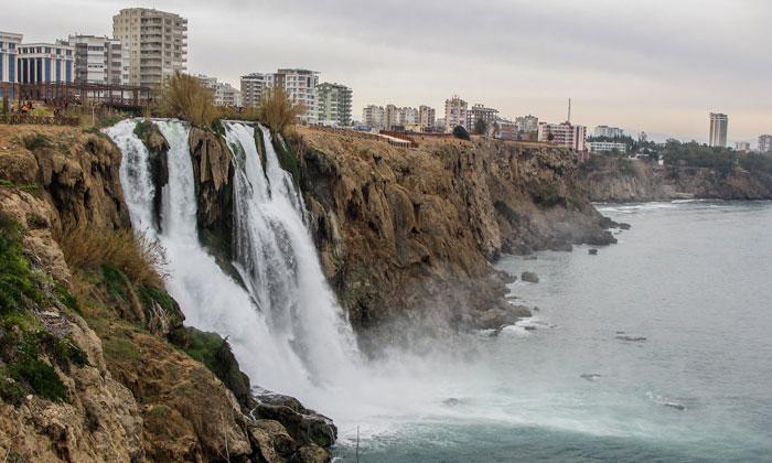 Нижний Дюденский водопад Анталии