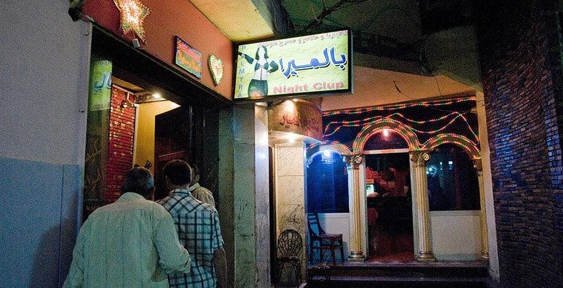 Дешёвый ночной клуб Palmyra в Каире