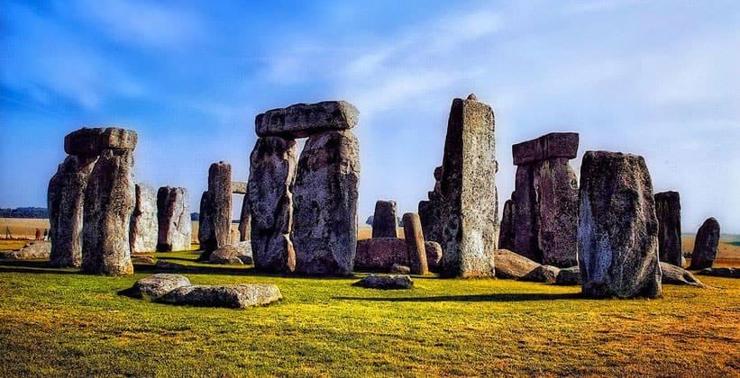Памятник Стоунхендж в Англии