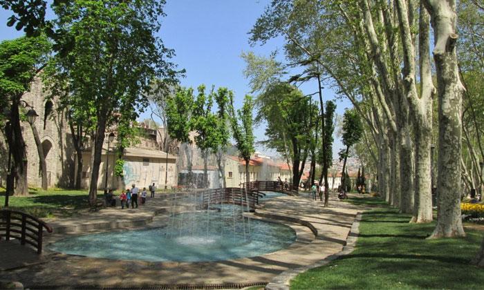 Парк Караалиоглу в Анталии
