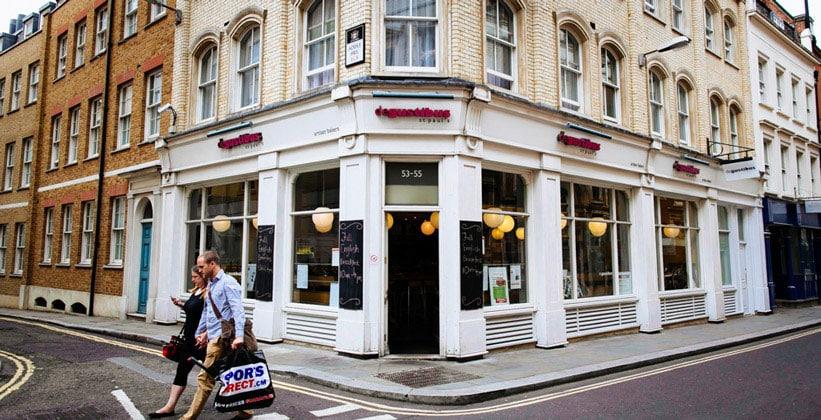 Пекарня De Gustibus в Лондоне