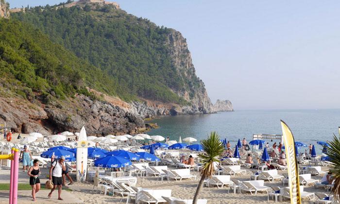 Пляж «Дамлаташ» в Аланье