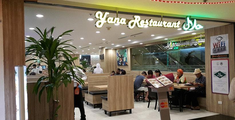 Ресторан Yana в Бангкоке
