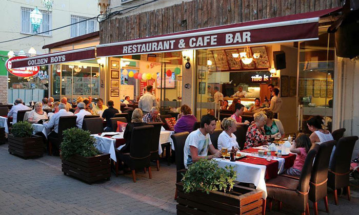 Ресторан «Golden Boys» в Кушадасах