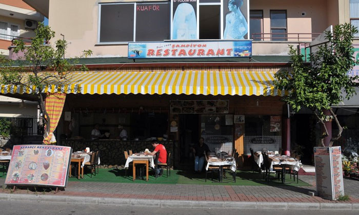 Ресторан «Sampiyon» в Аланье