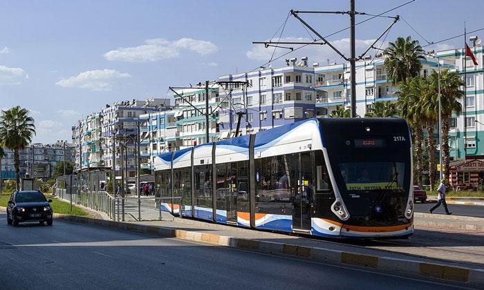 Скоростной трамвай Анталии
