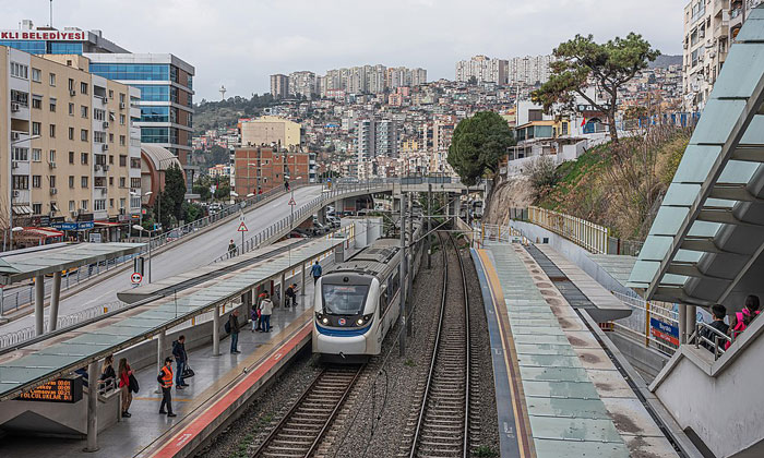 Станция «ИЗБАН Байраклы» в Измире