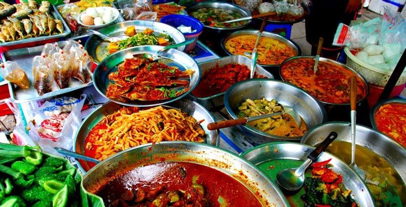 Уличная еда Бангкока
