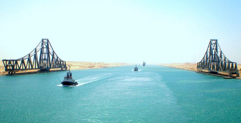 Суэцкий канал Египта