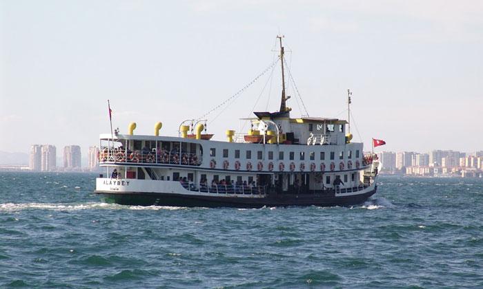 Паром «Alaybey» в Измире