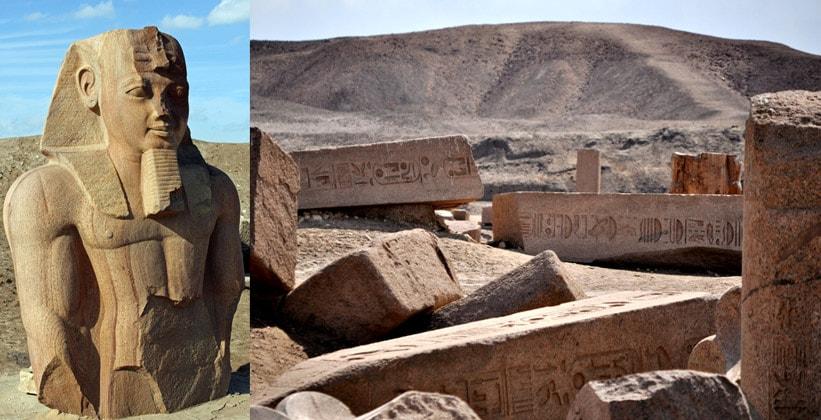 Разрушенный город Танис (археологический объект)