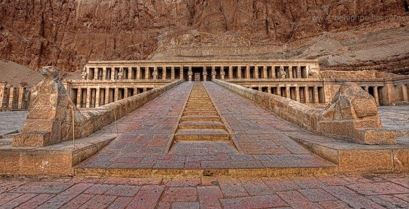 Храм Дейр-эль-Бахри
