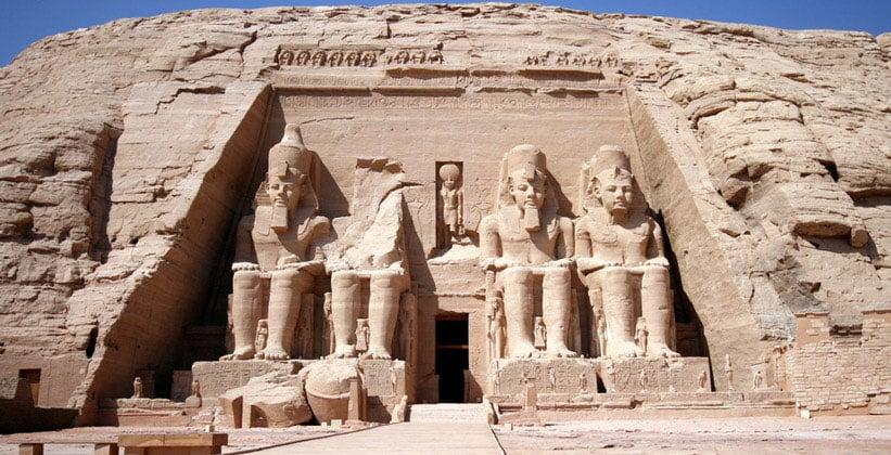 Храм Рамсеса II (Абу Симбел) в Египте