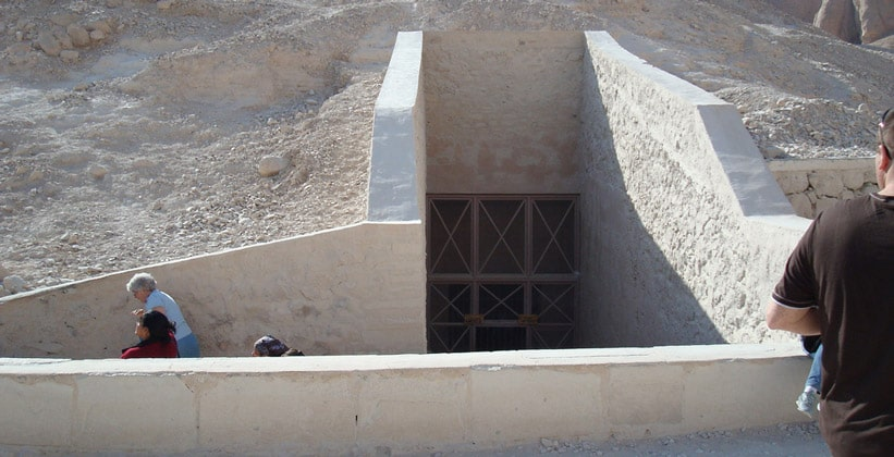 Вход в гробницу Рамсеса III