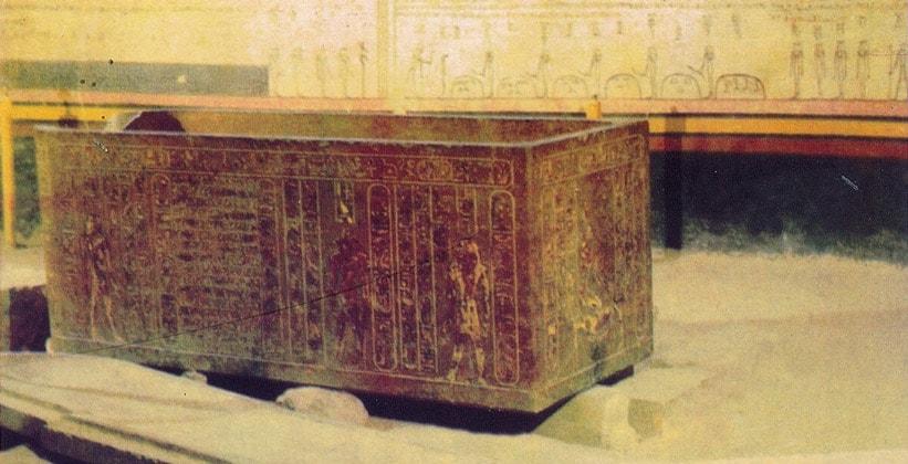 Саркофаг Сети I