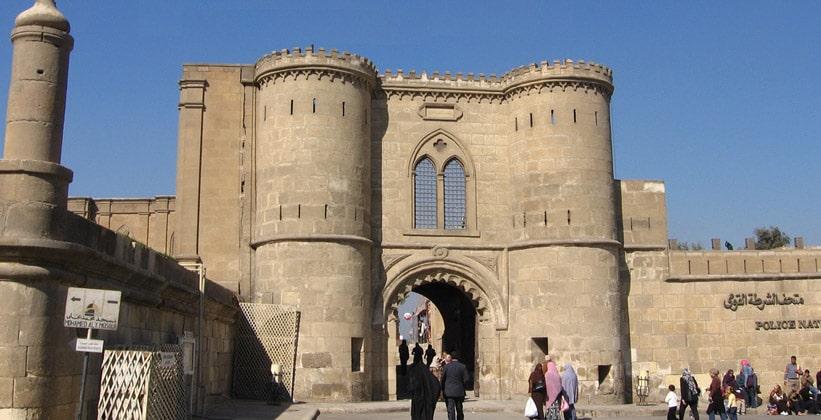 Вход в цитадель Каира