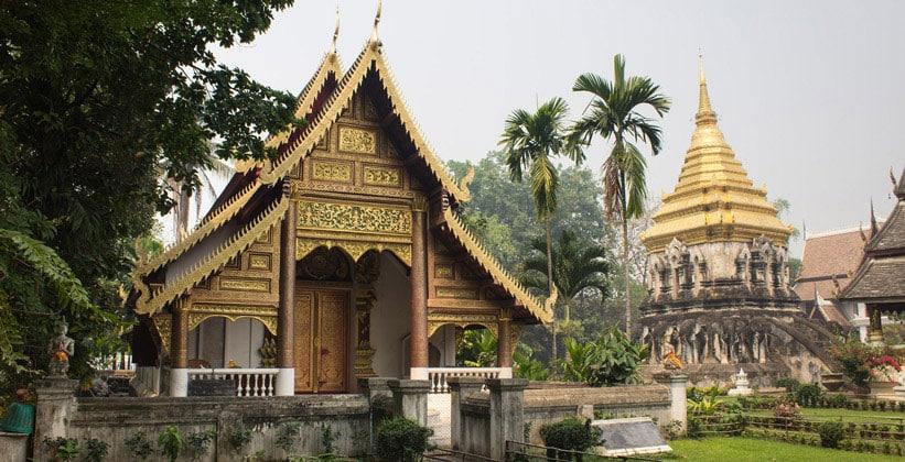 Храм Wat Chiang Man в Чиангмае