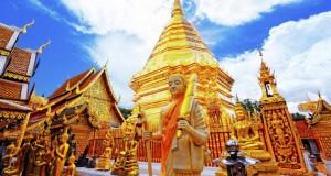 Храм Ват Пхра Тхат Дой Сутхеп в Таиланде