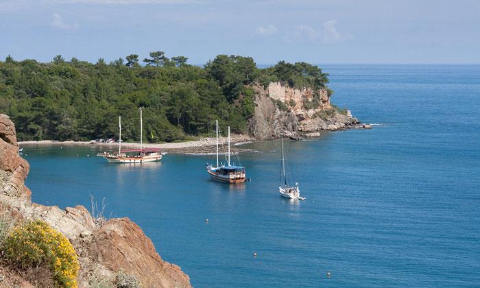 Залив Фазелис в Турции