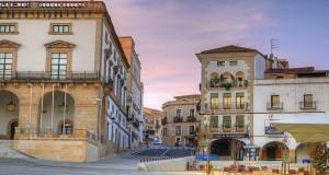 Испанский город Касерес