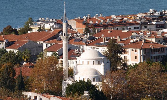 Белая (Центральная) мечеть Фетхие