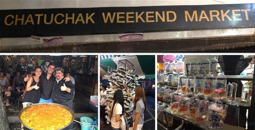 Воскресный рынок Чатучак в Бангкоке