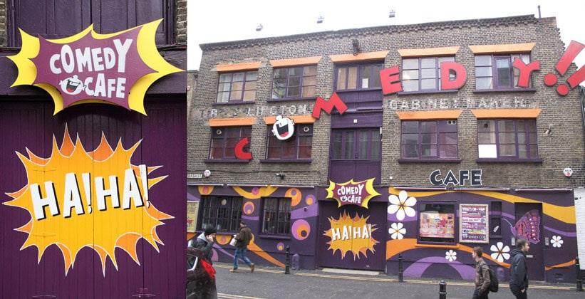 Comedy Cafe в Лондоне