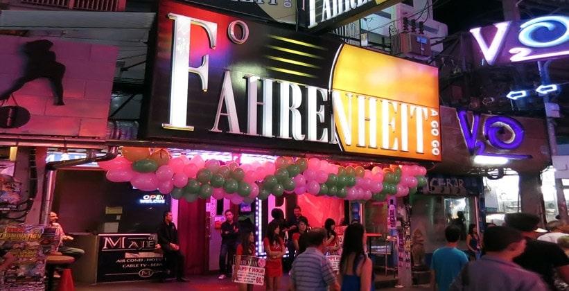 Ночной клуб Fahrenheit в Паттайе
