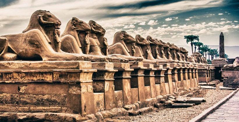 Гипостиль Карнакского храма