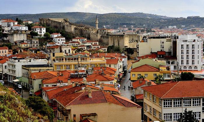 Город Чешме в Турции