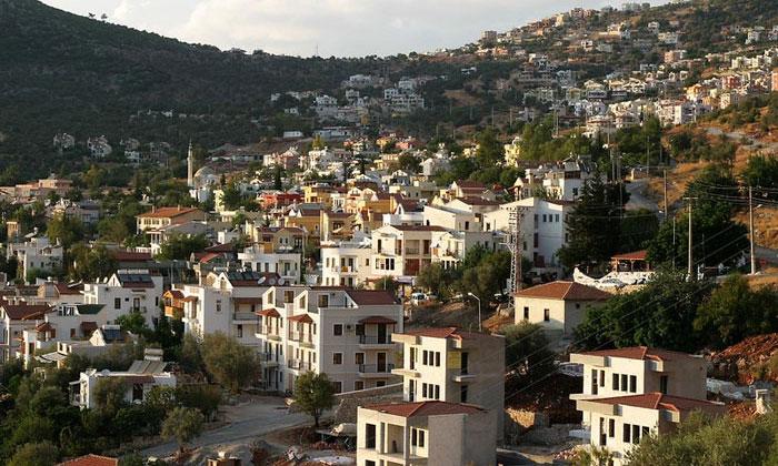 Город Калкан в Турции
