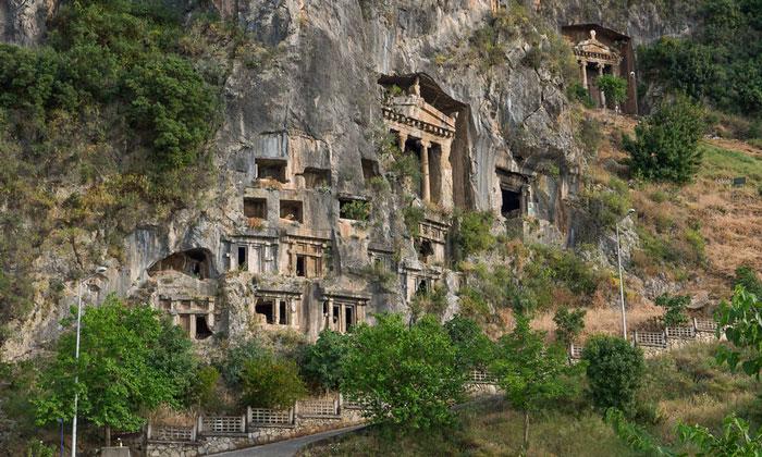 Ликийские скальные гробницы Фетхие