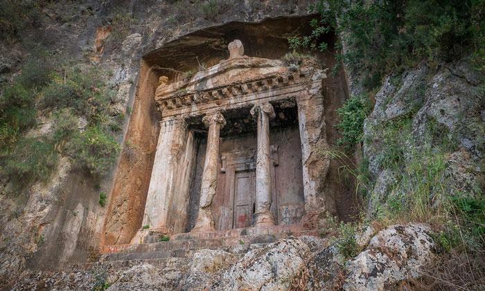 Гробница Аминтаса в Фетхие