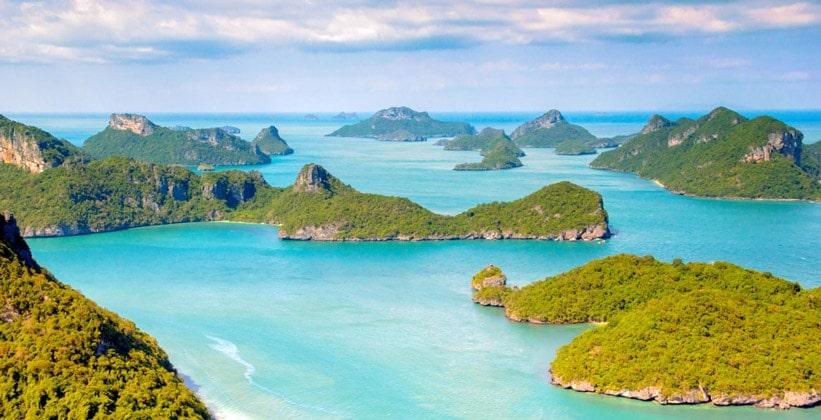 Остров Ко Самуи (Сиамский залив Таиланда)