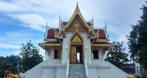Храм в городе Краби (Андаманское побережье Таиланда)