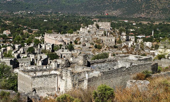 Руины Каякёй (Кармилиссос)