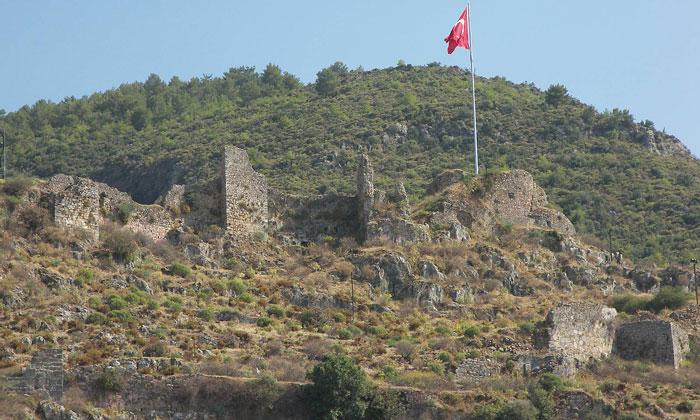 Остатки крепости Фетхие