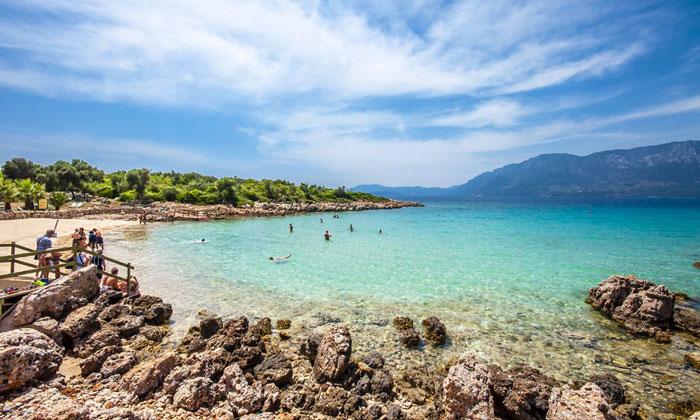 Пляж «Клеопатры» (остров Седир)