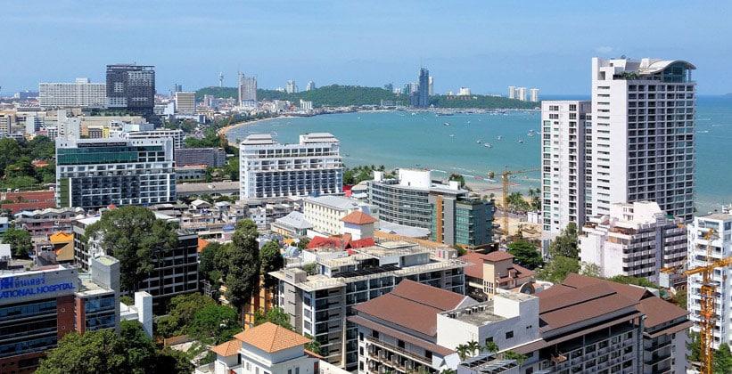 Курортный город Паттайя в Таиланде