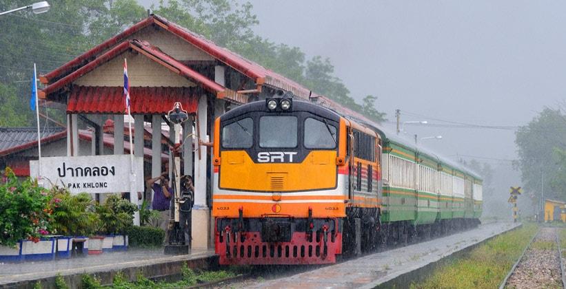 Междугородние поезда в Таиланде